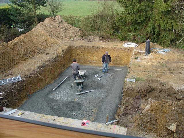 Construction de piscine b ton 44 nantes littoral piscines for Piscine beton coule