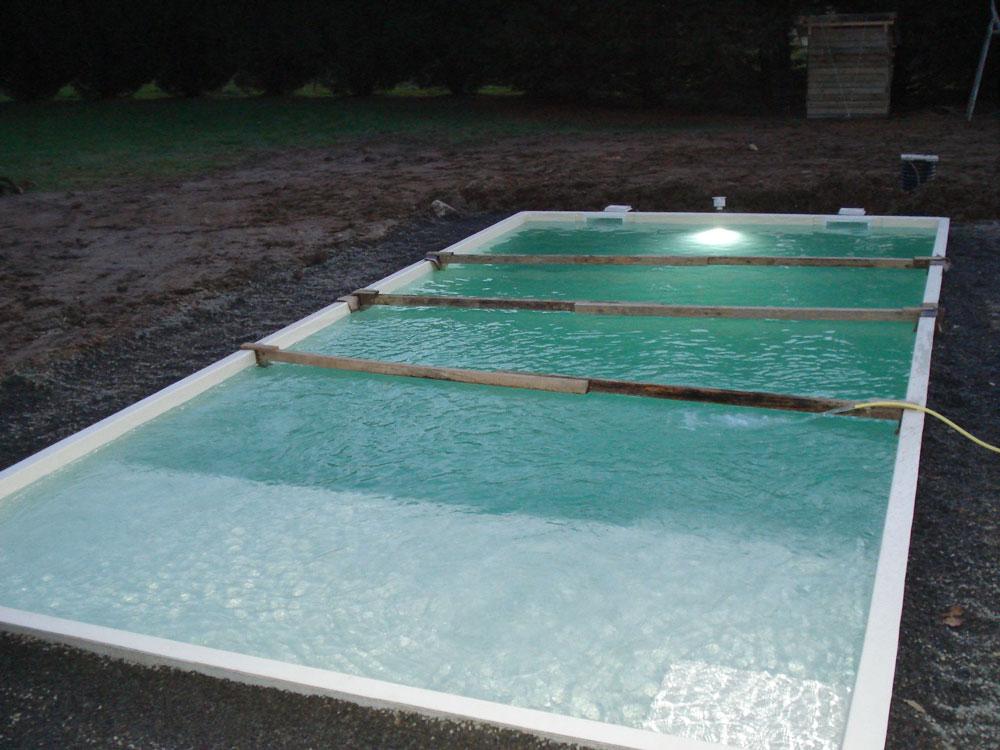 piscine coque en cours de r alisation derval 44 littoral. Black Bedroom Furniture Sets. Home Design Ideas